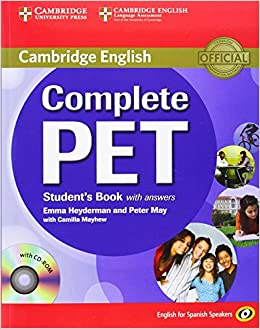 Complete Pet For Spanish Speakers Student's Book With Answers With Cd-rom por Peter May epub