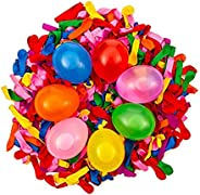 Self-Sealing 440 Water Balloons 12 Pack of Water Balloons Easy Quick Fill for Splash Fun Kids and Adults Party