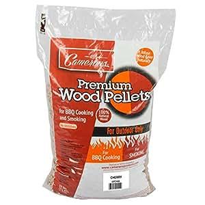 Wood Pellets - All Natural Premium Grilling Barbeque Wood Pellets - No Fillers, Cherry 20 lb Bag