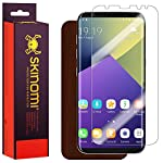 Skinomi Dark Wood Full Body Skin Compatible with Samsung Galaxy S8 (Full Coverage) TechSkin with Anti-Bubble Clear Film Screen Protector 5 About the Natural Wood Series