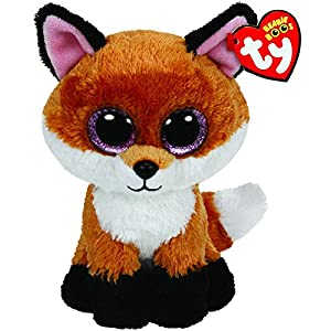 Ty Beanie Boos 6-Inch Slick Brown Fox Plush - 51g5H6ZgN6L - Ty Beanie Boos 6-Inch Slick Brown Fox Plush