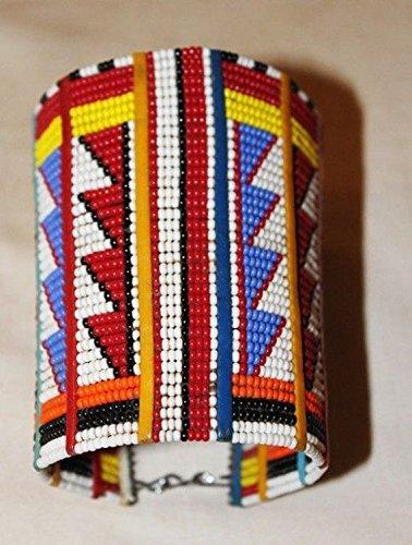 Jackielyna African Maasai Beaded Traditional Ethnic Tribal Beaded Bracelet - Kenya