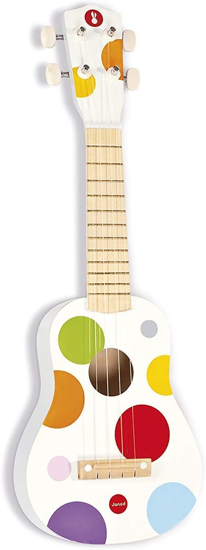Janod - Ukulele de juguete Confetti, madera (J07597)
