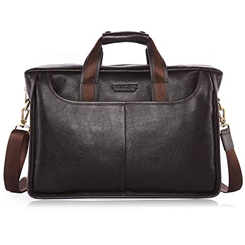 Luxury Leather Briefcase - 9
