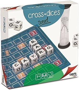 Cayro - Cross Dices Travel, Juego de Mesa (213): Amazon.es: Juguetes y juegos