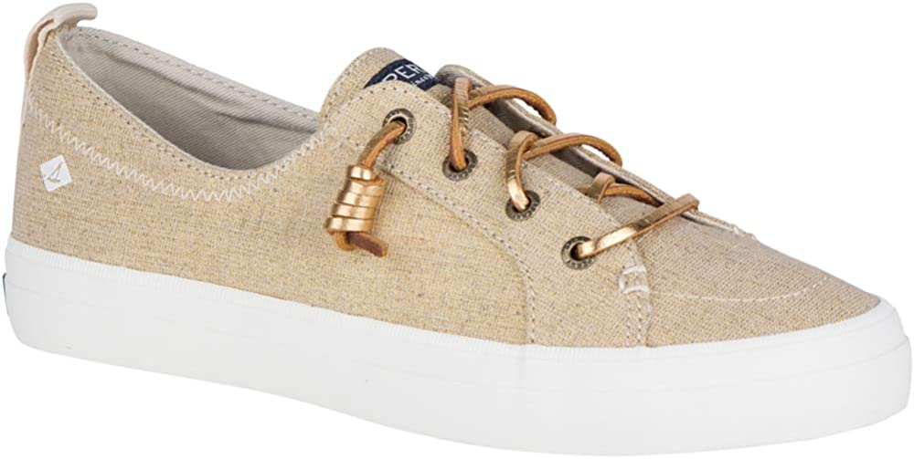 Sperry Top-Sider Crest Vibe Sneaker Women 7.5 Gold