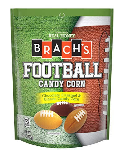 Brach's 12 Pack Candy Corn, Footballs]()