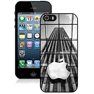 2015 Gorgeous Custom Design with Apple Store New York City Black For iPhone 5s 5th Generation Cover Case