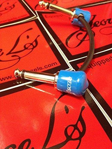 George L de jtm JMP Marshall Plexi - Amp jumper cable de conexión azul tapones chapado en níquel: Amazon.es: Instrumentos musicales