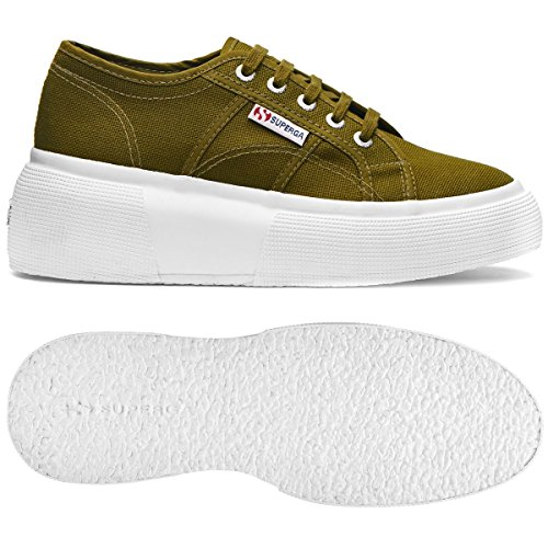 2287 Miltary Para Zapatillas Mujer Green cotw Superga PxBgFqWw4g