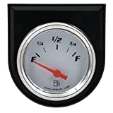 Equus 5362 2'' Fuel Level Gauge, White