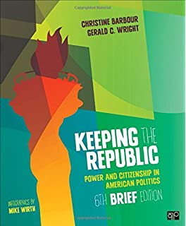Amazon. Com: bundle: barbour: keeping the republic, 6e brief + van.