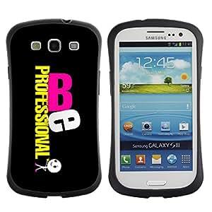 Paccase / Suave TPU GEL Caso Carcasa de Protección Funda para - Be Professional - Samsung Galaxy S3 I9300