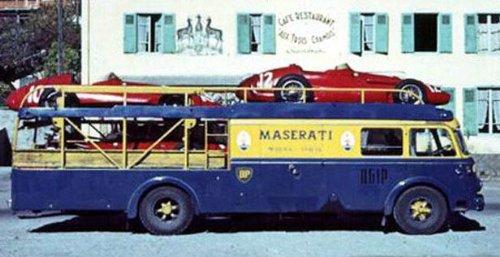 1/18 フィアット642 RN2 マセラティ レーシングカー トランスポーター 1957 M-097