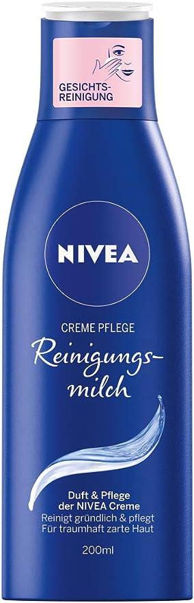 Pack de 1 leche de limpieza facial de Nivea, 1 botella de 200 ml ...