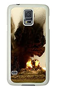 Samsung Galaxy S5 Explosion PC Custom Samsung Galaxy S5 Case Cover White by supermalls