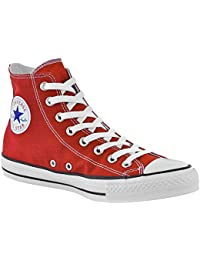 Converse Chuck Taylor All Star High Top Sneakers (13 B(M) US Women/11 D(M) US Men, Red)