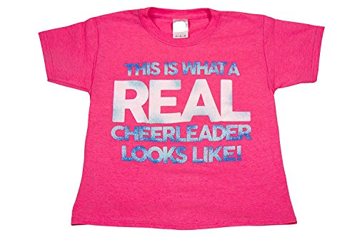 This Is What A Real Cheerleader Looks Like - All Star Outfitters Cheerleading Apparel - Youth Medium