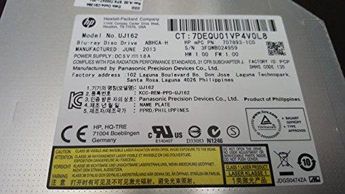 Panasonic UJ162 UJ-162 6X Blu-Ray Player Combo BD-ROM Slim 9.5mm DVD SATA Drive by Panasonic (Image #1)