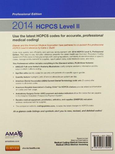 2014 HCPCS Level II Professional Edition (HCPCS (American Medical Assn)) - http://medicalbooks.filipinodoctors.org