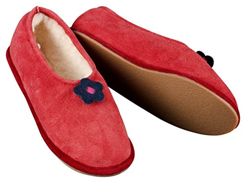 Heller Vertrieb, Pantofole donna Rosso rosso