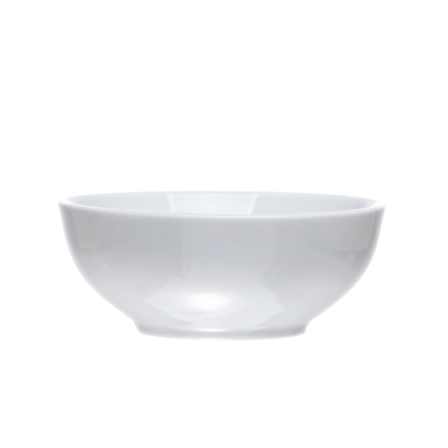 Soy Dipping Bowls - Sauce Dishes Set, 2.7 Oz., White Porcelain, Restaurant&Hotel Quality (12)