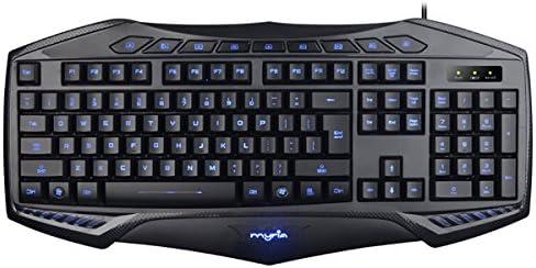 Myria MG7502 - Teclado para Juegos, Retro Iluminado, Color ...