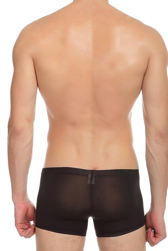 46a7c00debc96c EUROUS Mens Underwear Thin Ice Silk Trunks Boxer: Amazon.co.uk: Clothing