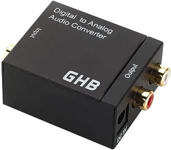 GHB Conversor de audio digital en analógico (entradas