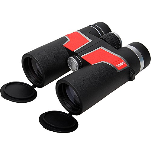 10X42 Ultra HD Binoculars for Adults, Quality Optics for Bright Clear Bird Watching Hiking Concerts, Lightweight and Compact, Close Focus, Waterproof Fog Proof (Black, 10X42)