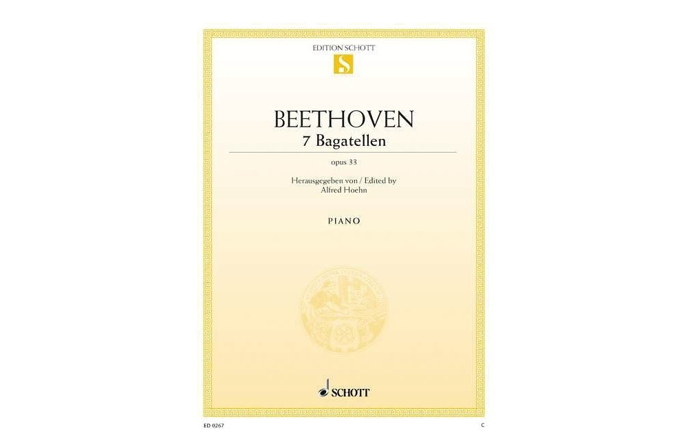 Download Schott 7 Bagatelles, Op. 33 Schott Series pdf epub