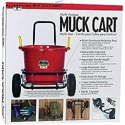 Miller CA500A CO Muck Cart, Black