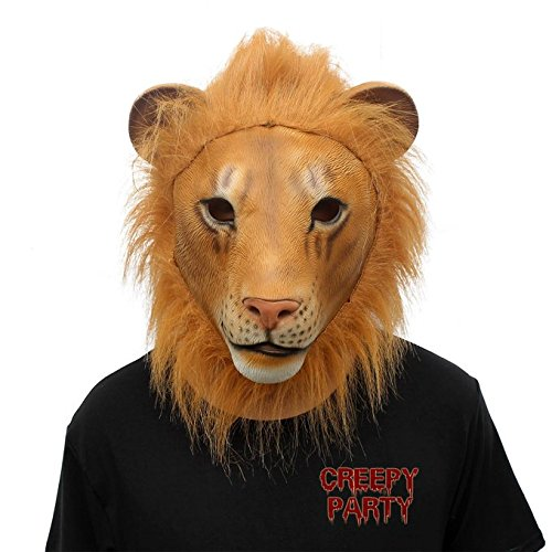 creepyparty-deluxe-novelty-halloween-costume-party-animal-lion-head-mask-lion-new