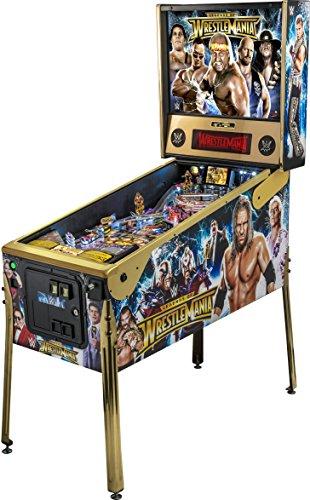 Stern Pinball WWE WrestleMania Le Arcade Pinball Machine by Stern Pinball