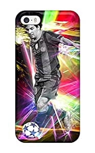 New Lionel Messi Position Tpu Skin Case Compatible With Iphone 5/5s by icecream design