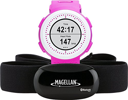 Magellan TW0204SGHNA Echo Fit Smart Sports Watch with Activity Sleep Tracking and Heart Rate Monitor-Bluetooth Smart (Pink) by Magellan