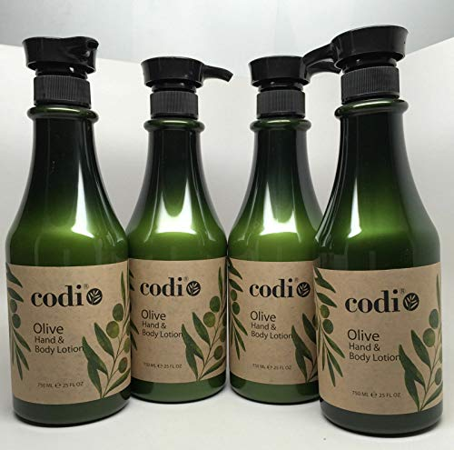 Fl Oz Body Oil - Codi Olive Hand & Body Lotion 25 fl oz 750ml 4 pc