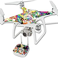 MightySkins Skin For DJI Phantom 4 Quadcopter Drone – Wet Paint Protective, Durable, and Unique Vinyl Decal wrap cover | Easy To Apply, Remove, and Change Styles | Made in the USA