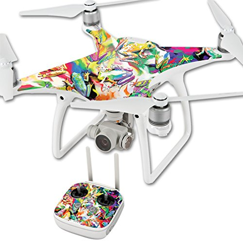 MightySkins Skin for DJI Phantom 4 Quadcopter Drone – Wet Paint | Protective, Durable, and Unique Vinyl Decal wrap Cover | Easy to Apply, Remove, and Change Styles | Made in The USA