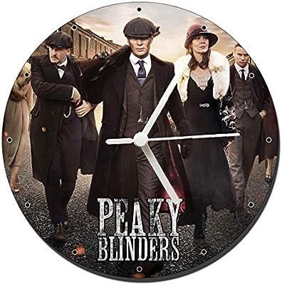 Mástil Azas Peaky Blinders Cillian Murphy Helen McCrory Relojes de Pared Wall Clock 20 cm: Amazon.es: Juguetes y juegos