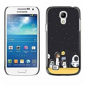 Dragon Case - FOR Samsung Galaxy S4 Mini i9190 - an opportunity to grow stronger.? - Caja protectora de pl??stico duro de la cubierta Dise?¡Ào Slim Fit