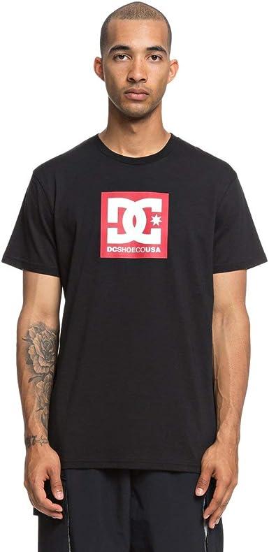 DC Shoes Square Star - Camiseta para Hombre EDYZT03825