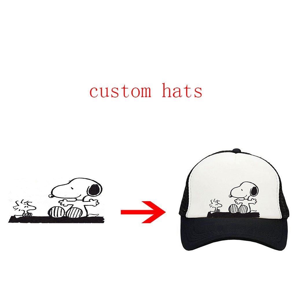Classic Trucker hat Baseball caps Beach hat Hip-hop Cap for Men and Women  with Custom Personalised hat at Amazon Men s Clothing store  ac7a2fb52