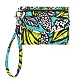 Vera Bradley Super Smart Wristlet in Island Blooms, Bags Central