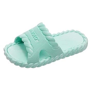 5b461591fcacb Amazon.com : ❤ Sunbona Toddler Infant Kids Baby Flats Slippers ...