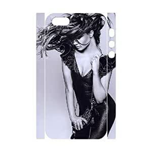 3D For SamSung Galaxy S6 Phone Case Cover Jennifer Lopez Messy Hair, Cute For SamSung Galaxy S6 Phone Case Cover Girls - [White] Yearinspace
