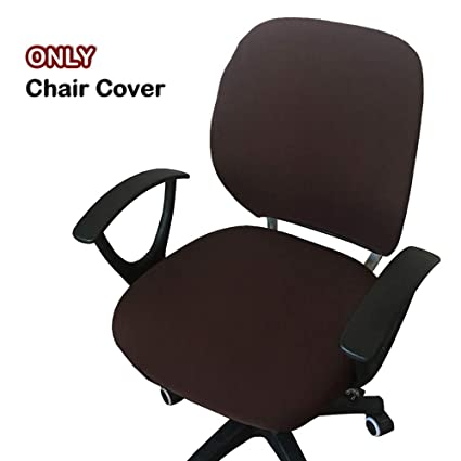 Peachy Womaco Desk Chair Cover Computer Office Chair Covers Removable Universal Chair Covers Stretch Rotating Chair Slipcover Coffee Gmtry Best Dining Table And Chair Ideas Images Gmtryco