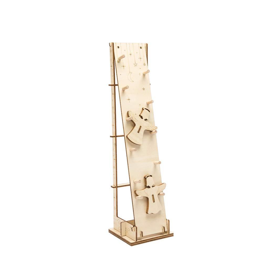Modelo mecánico/3D rompecabezas de madera/juguete de DIY/ángel del aterrizaje/kit de la construcción del engranaje de Asamblea/para los niños, las adolescencias y los adultos