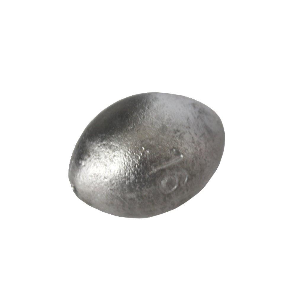 5ポンドのEgg Sinkerスタイル釣りウェイト – 多くのサイズAvailable B01IM5585Q 3/8 ounce, 214 count