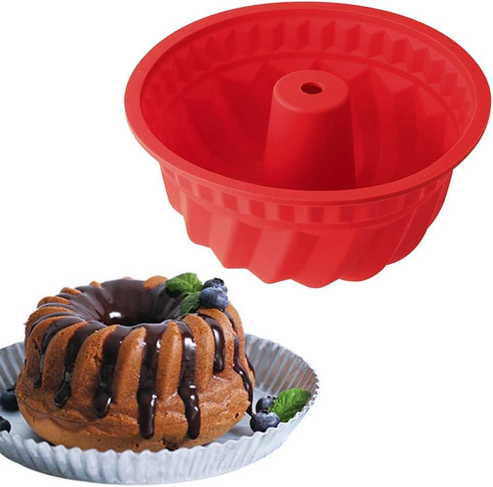 molde de silicona para bundt cake